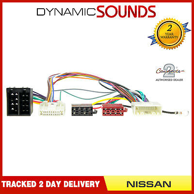 CT10NS05 Parrot SOT T-Harness Adaptor ISO Wiring Lead for NISSAN Qashqai (2007 )