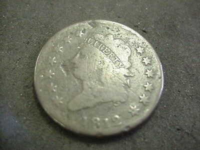 1812 Classic Head Large Cent Penny Nice Fine F Take A Look