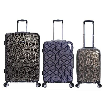 Extra Large XL Cabin Hard Travel Carry On Trolley Hand Luggage Suitcase Bag Case