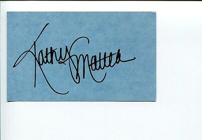 Kathy Mattea Sexy Bluegrass Country Music Singer Signed Autograph
