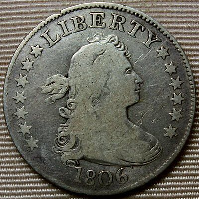 1806 Draped Bust Quarter * Original Beauty with Great Details