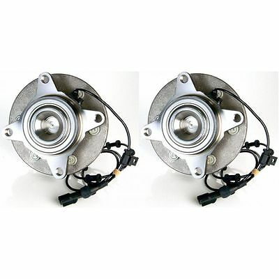 Front Wheel Hubs & Bearings Pair Set of 2 NEW for 03-06 Expedition Navigator 2WD