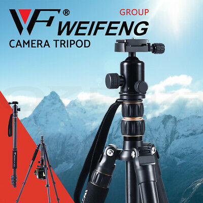Weifeng Professional Camera Monopod Tripod Stand DSLR Ball Head Mount Flexible