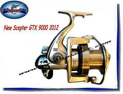 804929219358 NUOVO MULINELLO TICA SCEPTER GTX 9000 SURF CARPFISHING 7BB 2 BOBINE