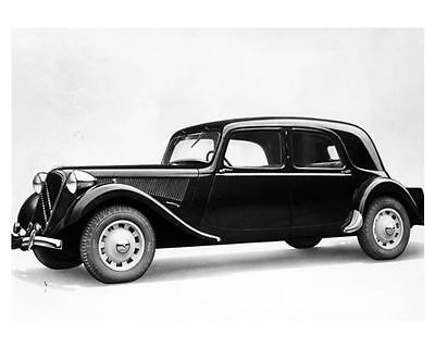 1949 Citroen Traction Avant Factory Photograph  m1870-ZXJGJZ