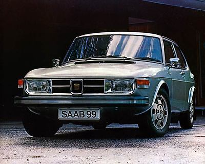 1974 Saab 99 EMS Automobile Photo Poster zm0667-NJYJ3B
