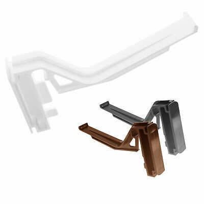 15 x Eurocell CRS8207 Conservatory Gutter Bracket Ogee Clip White Brown Caramel