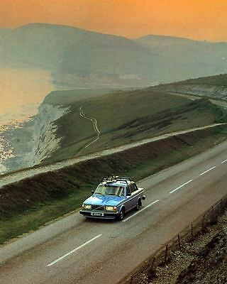 1980 Volvo 264 Sedan Automobile Photo Poster zm1575-7O5HN6