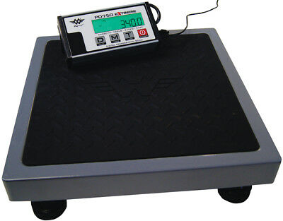 Paketwaage MyWeigh PD750 Extreme - 340kg x 100g Versandwaage Tierwaage digital