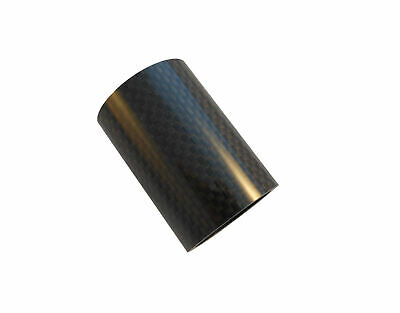 "Carbon Headset Spacer 50mm x 1-1/8"" x 35mm 3k Weave Gloss Prestine"
