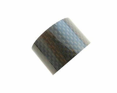"""Carbon Headset Spacer 20mm x 1-1/8"""" x 35mm 3k Weave Gloss Prestine"""