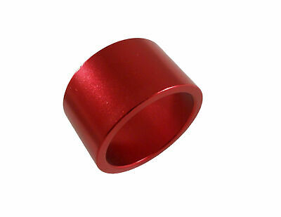 "Headset Spacer 1-1/8"" x 20mm x 35mm Anodised Red Prestine PT67A"