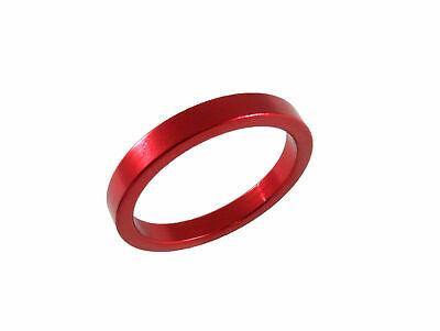 "Headset Spacer 1-1/8"" x 4mm x 35mm Anodised Red Prestine PT67A"