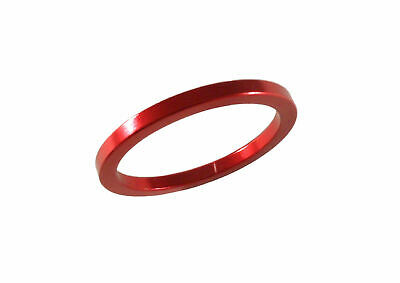 "Headset  Spacer 1-1/8"" x 3mm x 35mm Anodised Red PT67A"