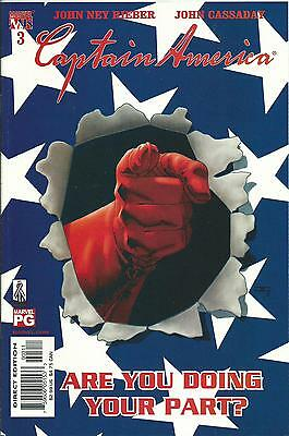 Captain America #3 (4Th Series) (Marvel Knights)  2002