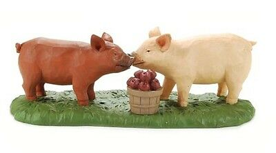 Blossom Bucket--PIGLETS and APPLES **So Cute**