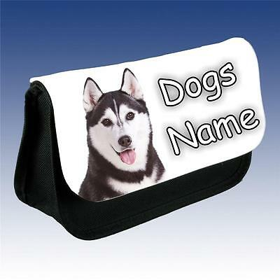 Husky Dog Grooming Bag Personalised With Your Dogs Name