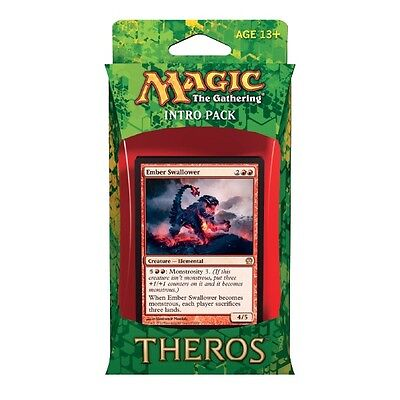 Magic the Gathering MTG Intro Pack - Theros : Red / Ember Swallower