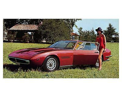 1969 Maserati Ghibli Automobile Photo Poster zm1785-3Q5QY3