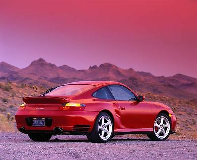 2002 Porsche 911 996 Turbo Coupe Automobile Photo Poster zm179-L5M8Z3