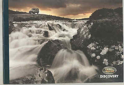1994 Land Rover Discovery Prestige Brochure England wt6354