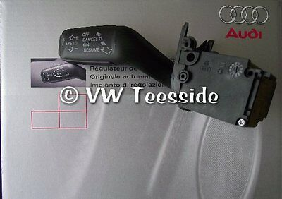 Genuine Audi A4 [8E/B6/B7] Cabrio [8H] A6 RS6 [4F/C6] Cruise Control & Trim Kit