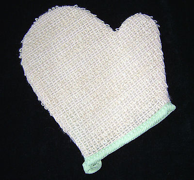 New Deluxe Bath Shower Exfoliating Natural Ramie Bath Glove Pms Sale!!!