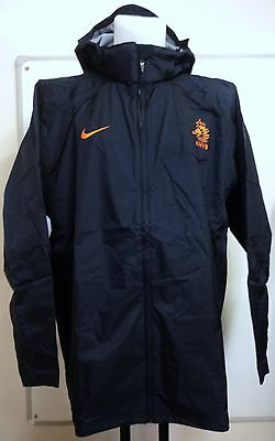 Holland Football Navy Pro Rain Jacket By Nike Adults Size Xl Brand New With Tags