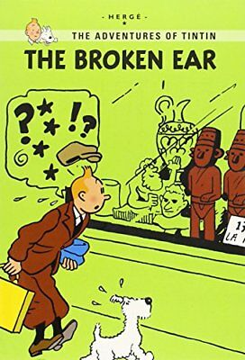The Broken Ear (The Adventures of Tintin: Young Readers Edition)-Herg®