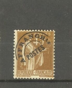 """FRANCE STAMP TIMBRE PREOBLITERE N°71 """"TYPE PAIX 45c BISTRE"""" NEUF xx TB"""