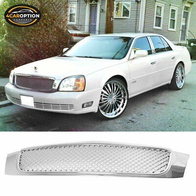00 01 02 03 04 05 CADILLAC DEVILLE CHROME MESH GRILL GRILLE