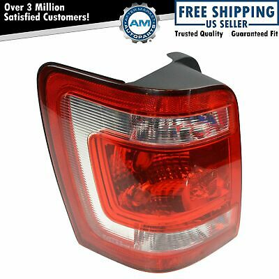 Taillight Taillamp Rear Brake Light Driver Side Left LH NEW for 08-12 Escape