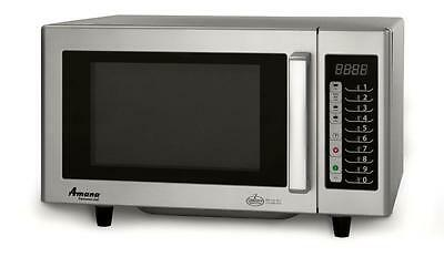 Amana Commercial Microwave Oven RMS10T 1000 Watts