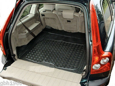 Volvo XC90 black rubber boot cover load liner dog mat guard protector