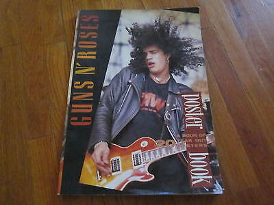 Guns N Roses Vintage Poster Book 1989 Unused 20 Posters Slash