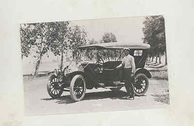 1912 Buick Touring Real Photo Postcard mx7963