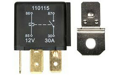 4Pin 12V 30 Amp Changeover Relay 30A Car  Van Motorbike Horn  Ry1