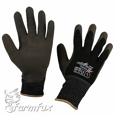 EXTREM WARME Winter Arbeitshandschuhe PowerGrab Thermo W Winterhandschuhe 8-11