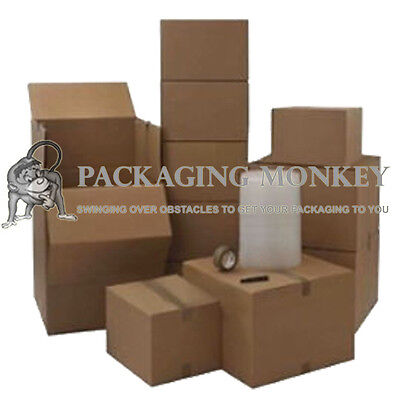 Pro #1 House Removal Packing Kit - 40 Cardboard Boxes (Including Double Wall)