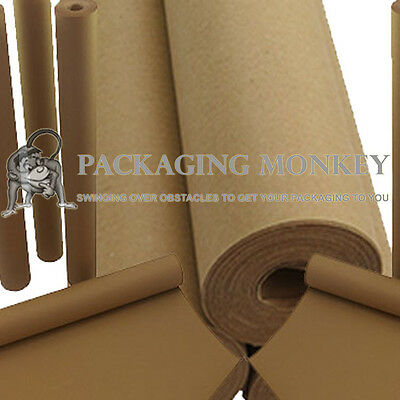 600mm x 50M Heavy Duty Kraft Brown Wrapping Paper Roll