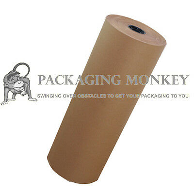 500mm x 225M Heavy Duty Kraft Brown Wrapping Paper Roll
