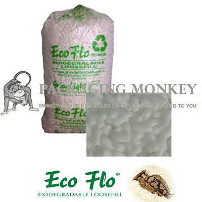 30 Cubic Feet Of Ecoflo Loose fill Packing Peanuts FAST