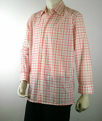 Herrenoberhemd VERACON 70er DDR TRUE VINTAGE GDR Hemd 70s dress shirt Dederon