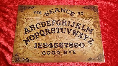 Victorian Magic Old Globes Ouija Board laminated sheet fortune telling seance