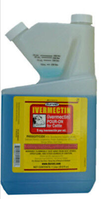 Durvet Ivermectin Pour On 250 ML For Cattle