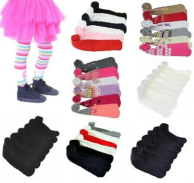 NEW Girls Angelina's Warm Thick Winter Tights Multi-Colors Lot #001 XS S M L XL