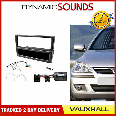 Single Din Car Stereo Fitting Kit plus Stalk CTKVX18 Vauxhall Vectra until 2004