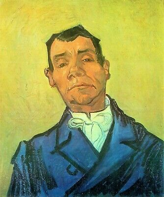 Rey by Vincent Van Gogh Giclee Fine Art Print Repro on Canvas Portrait of Dr