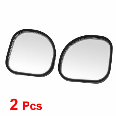 2pcs 360 Degree Rotation Wide Angle Vehicle Side View Rearview Blind Spot Mirror