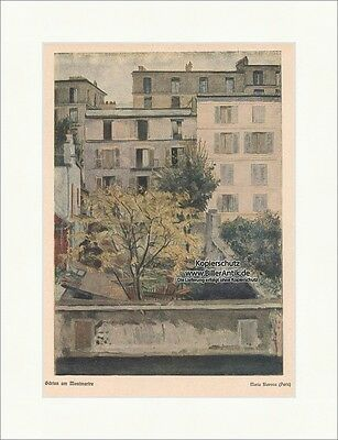 Gärten am Montmartre Maria Slavona Paris Fluss Georg Hirth Ostini Jugend 1779